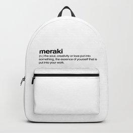 meraki Backpack