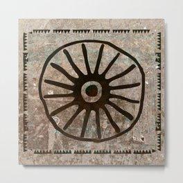 Simbologia Tribal 1 (Islas Canarias) Metal Print
