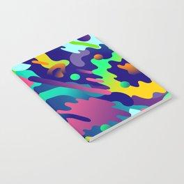 Splash Pattern Notebook