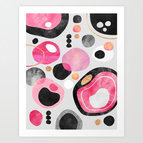 Graphic Play 1 Art Print