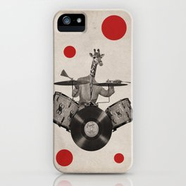 Anthropomorphic N°24 iPhone Case