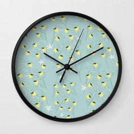 Limones. Wall Clock