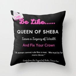 Be Like Throw Pillow