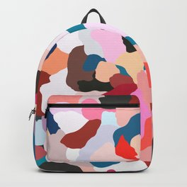 petals: abstract painting Backpack