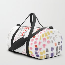 Abstract strokes Duffle Bag