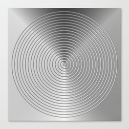energetic black Canvas Print