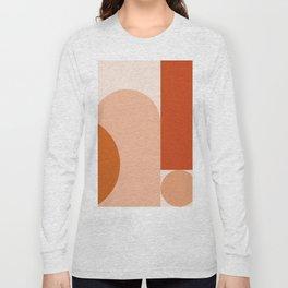 abstract minimal #8 Long Sleeve T-shirt