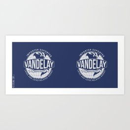 Vandelay Industries Art Print
