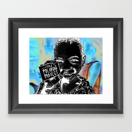 The Polaroad Project Framed Art Print