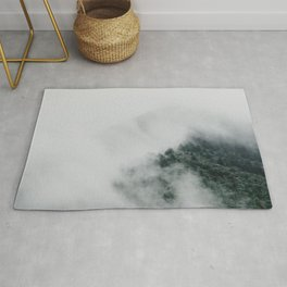 Clouds Clearing | Nature and Landscape Photography Rug
