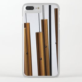 Wind Chimes Clear iPhone Case
