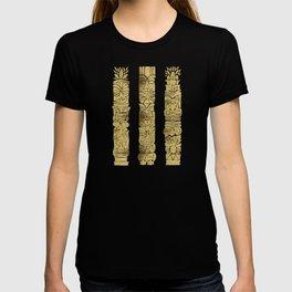 Tiki Totems – Gold Palette T-shirt