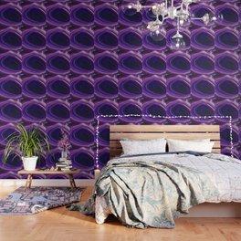 Swirled Purple Geode Wallpaper