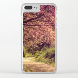 Cherry Lane Clear iPhone Case