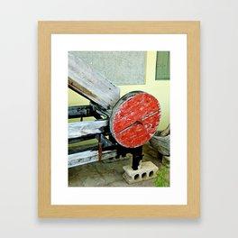 Moledora del Jibaro Framed Art Print