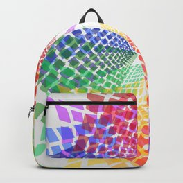Colorful mosaic pattern design Backpack