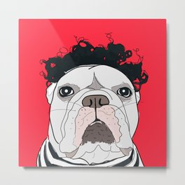 Venice Bulldog Metal Print