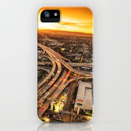 los angeles junction iPhone Case