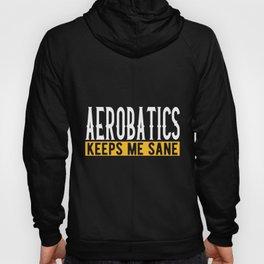 Aerobatics Gift Idea Design Motif Hoody