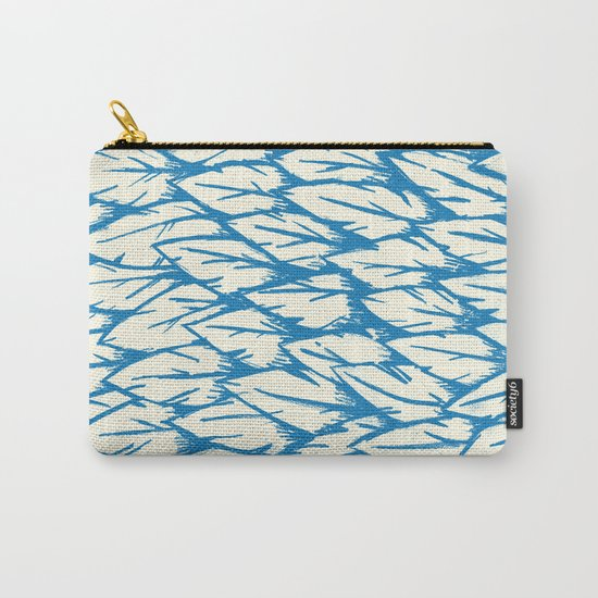 Feathered Fringe Carry-All Pouch