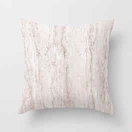 Creamy Waterfall I Throw Pillow