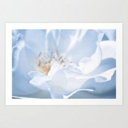 Blue Texture II Art Print
