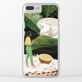 Sweet as Pie Clear iPhone Case