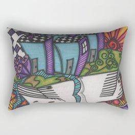 a new society Rectangular Pillow