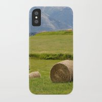 montana iPhone & iPod Cases featuring Montana by Claudia Turner