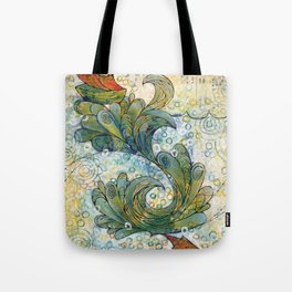 letting them go Tote Bag