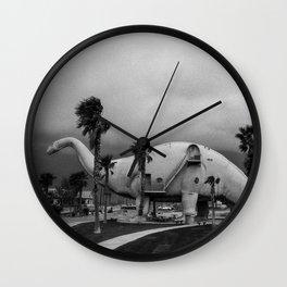Dinosaur Park - Prehistoric California Wall Clock