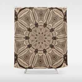 Ouija Wheel - Beyond the Veil Shower Curtain