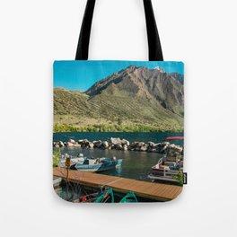 Convict Lake and Mt. Morrison Tote Bag