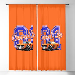 General Lee Blackout Curtain