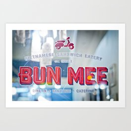 Bun Mee Art Print