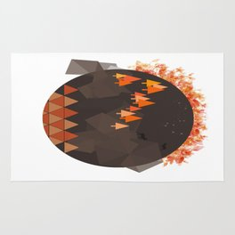 In the mountains Rug