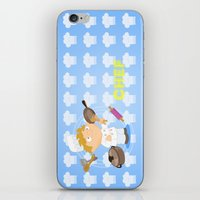 chef iPhone & iPod Skins featuring Chef by Alapapaju