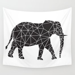 Elephant Angles (Help Save Endangered Elephants) Wall Tapestry