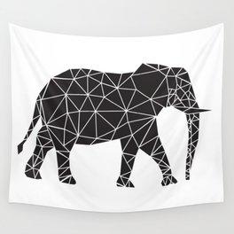 Elephant Angles (Help Save Endangered Elephants) Wall Tapestry