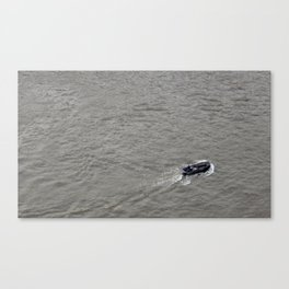 Boating the Thames Canvas Print