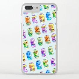 La Croix 4 Lyfe Clear iPhone Case