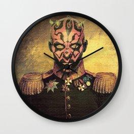 Darth Maul General Portrait Painting | Class Photo Fan Art Wall Clock
