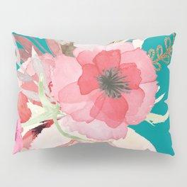 Flowers , floral , shabby chic décor,  flower decor , Pillow Sham