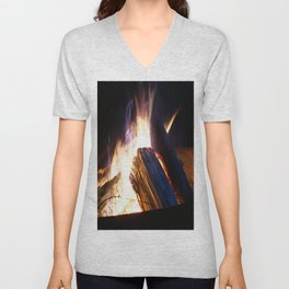 campfire Unisex V-Neck