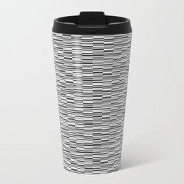 Vintage Lines Metal Travel Mug