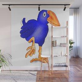 Pukeko Bird. New Zealand Native Birds Wall Mural