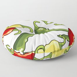 Chili peppers Floor Pillow