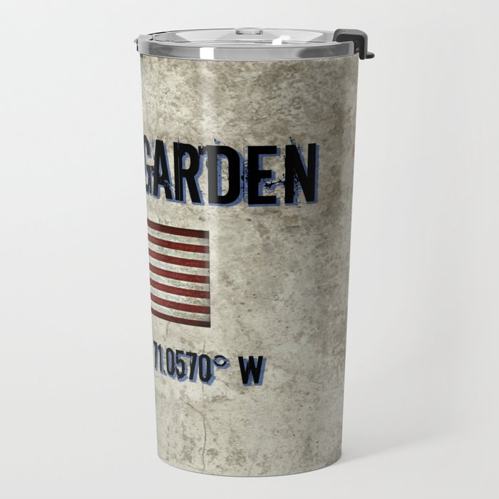 Remembering the Old Boston Garden Travel Mug