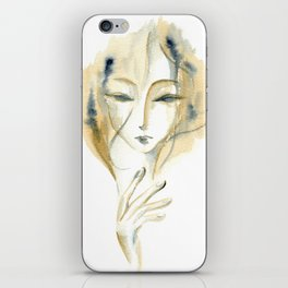 Madame Ochre iPhone Skin