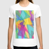 transparent T-shirts featuring Transparent Triangles by AleyshaKate